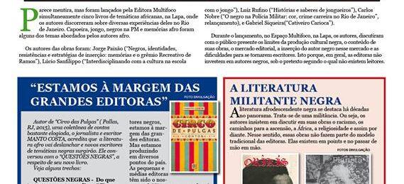 A Editora Multifoco e as temáticas africanas